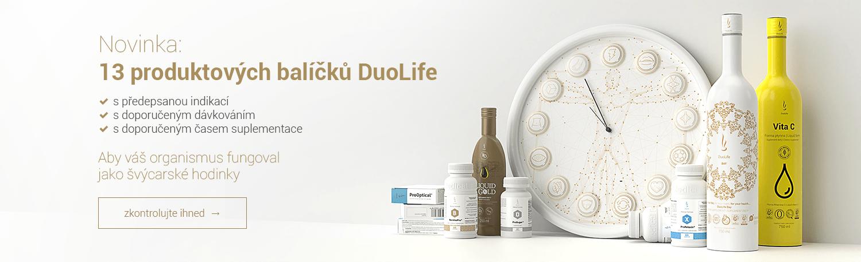 Doporučené produktové balíčky DuoLIfe