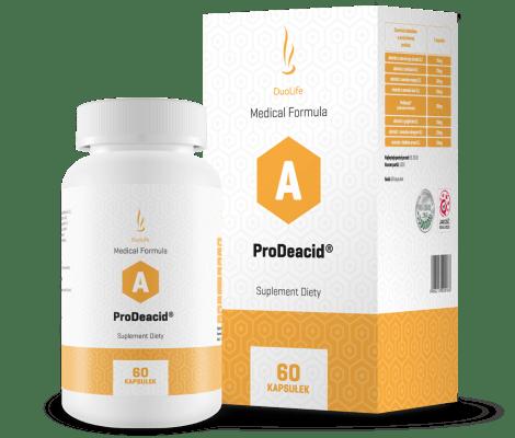 DuoLife Medical Formula ProDeacid překyselení organismu snížení kyselosti organismu