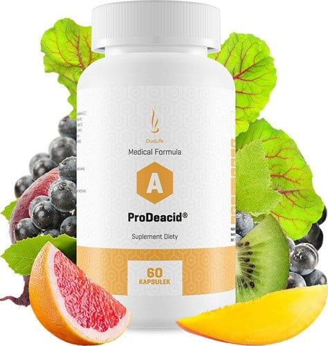 odkyselení organismu kyselost organismu DuoLife Medical-Formula ProDeacid