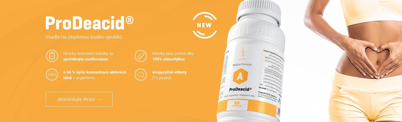 DuoLife Medical Formula ProDeacid® překyselení organismu odkyselení DuoLife Prodeacit
