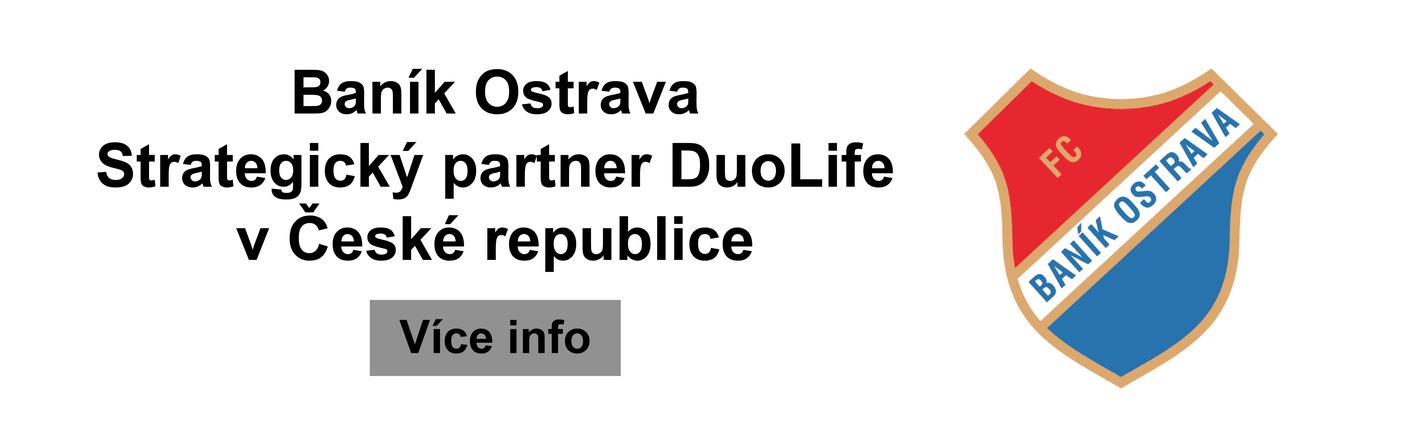 Baník Ostrava strategický partner DuoLife v České republice